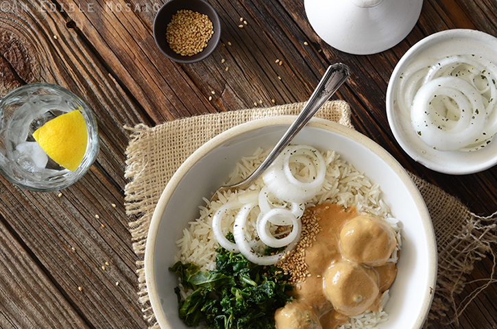 Chicken Satay Meatball Curry 3