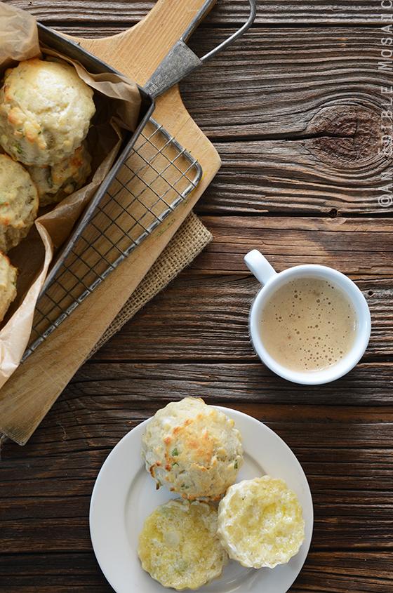 Savory Scallion and Cheese Scones