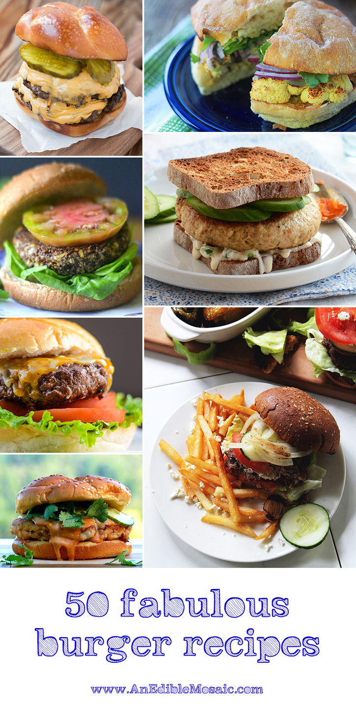 50 Fabulous Burger Recipes