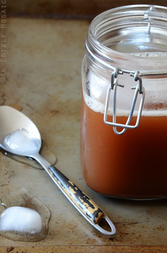 Honey-Vanilla Masala Chai Syrup for Iced or Hot Lattes 2