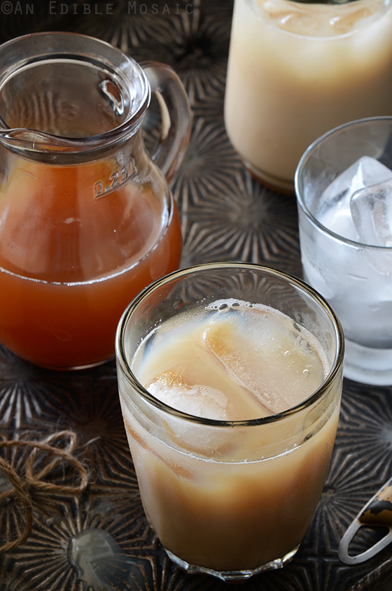 Honey-Vanilla Masala Chai Syrup for Iced or Hot Lattes