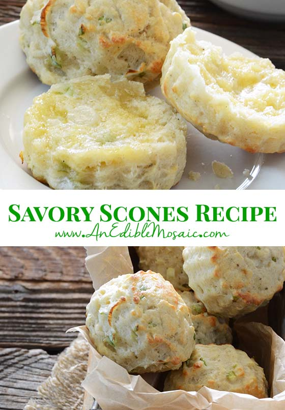Savory Scones Recipe Pin