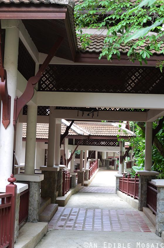 Walkway to Hill Side Villas