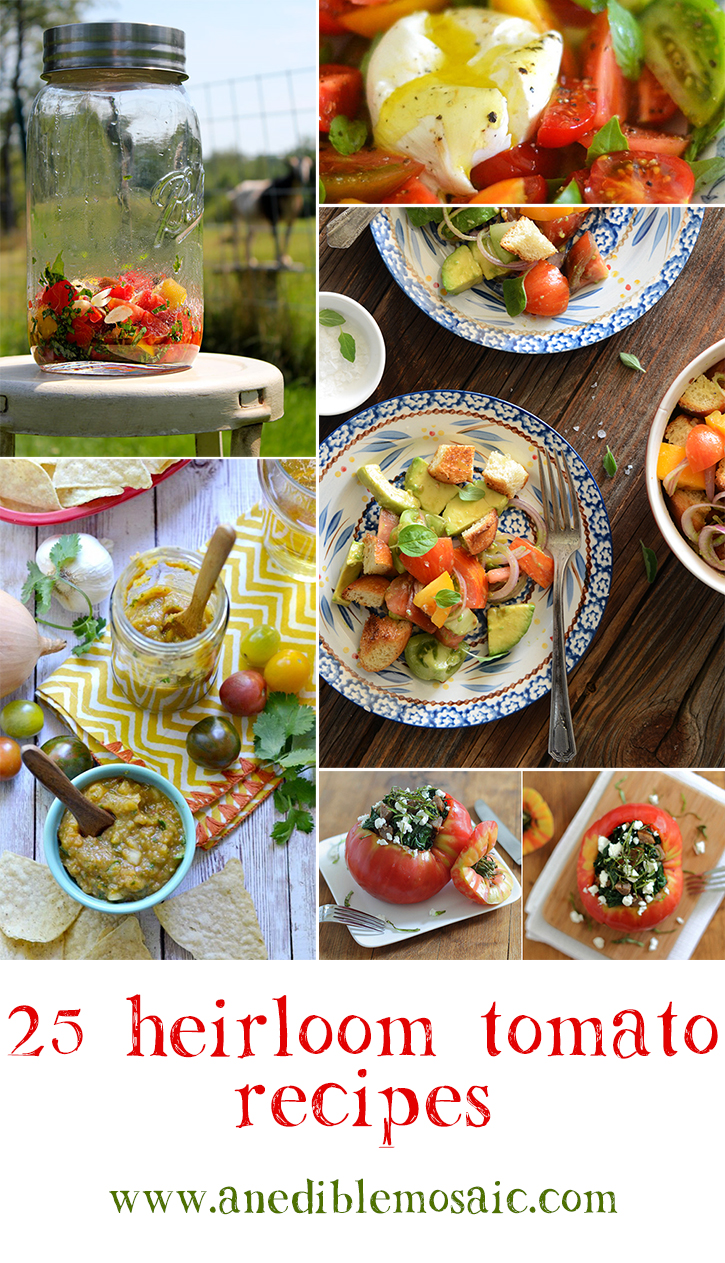 25 Heirloom Tomato Recipes
