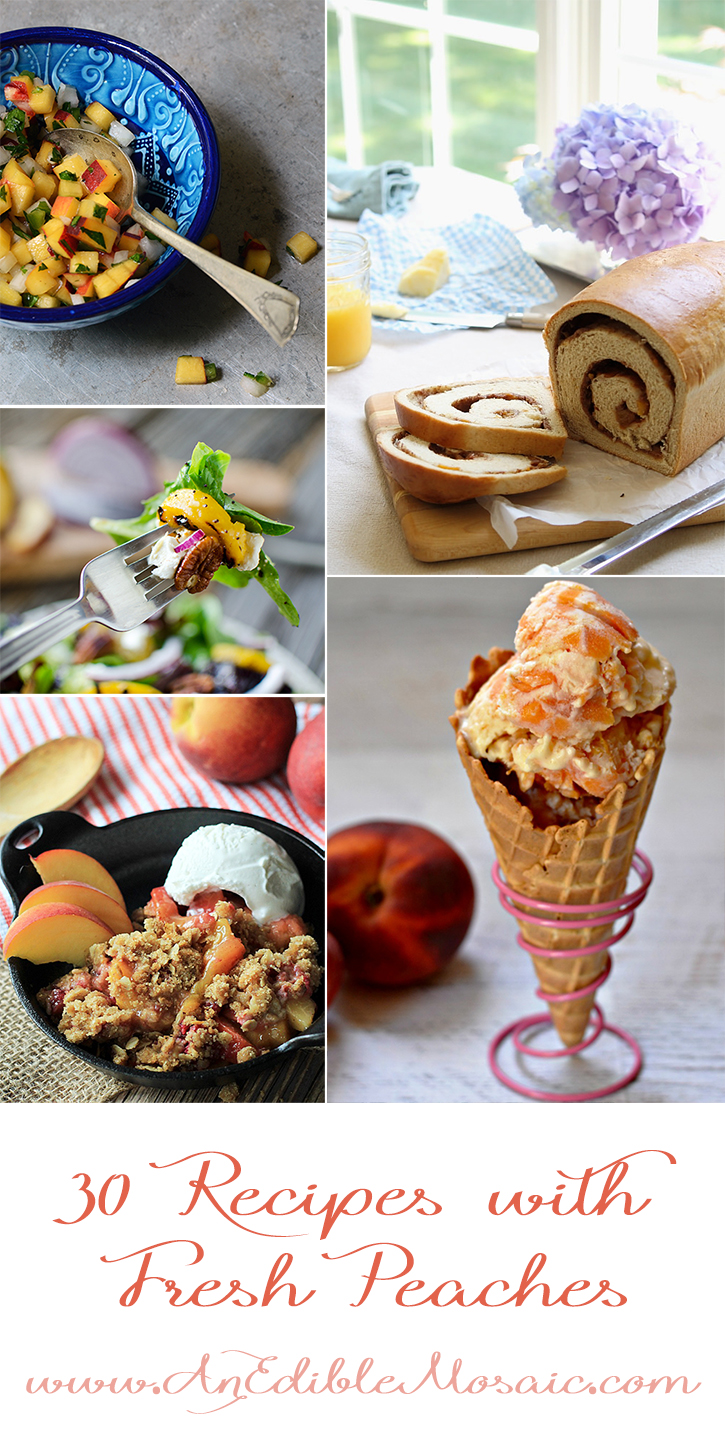 30 Recipes with Fresh Peaches