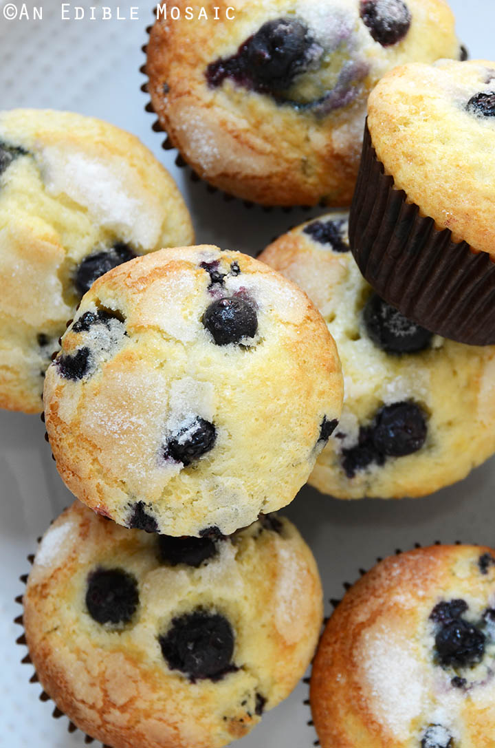 Classic Lemon-Scented Blueberry Muffins Recipe 2