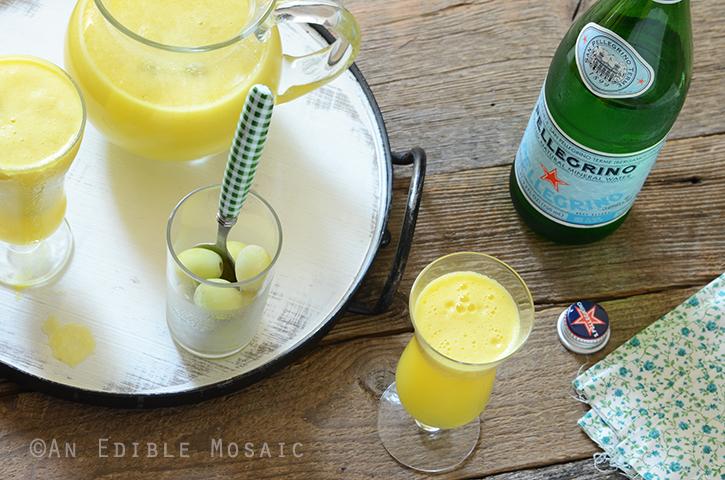 """Sparkling Citrus Pineapple Ginger """"Sangria"""" Mocktail 5"""
