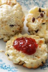 Cranberry Almond Scones {Crazy for Cranberry}