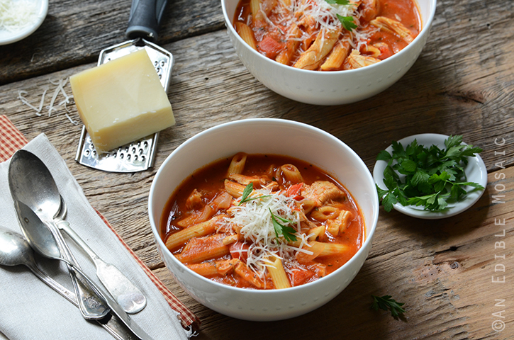 Easy Chicken Parm Soup 5