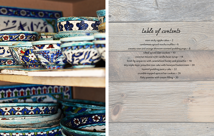 Syrian Pottery and Table of Contents