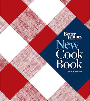 Better Homes and Gardens New Cookbook 16 Edition