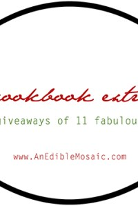 Holiday Cookbook Extravaganza: Reviews and Giveaways of 11 Fabulous Cookbooks