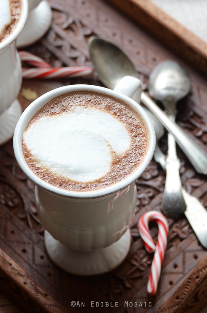 Skinny Vanilla-Peppermint Mocha Lattes