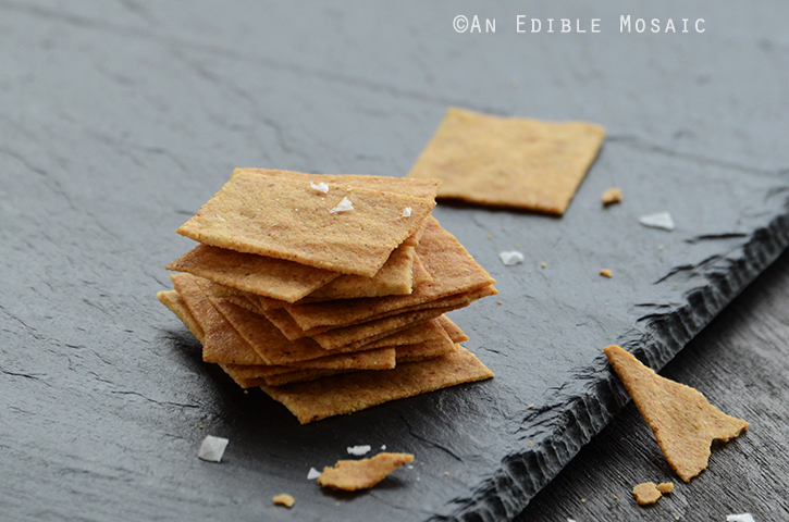 "Baked ""Cheese"" Crisps {Vegan} 3"