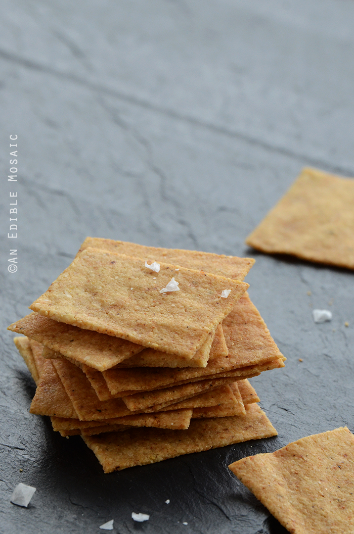 "Baked ""Cheese"" Crisps {Vegan}"