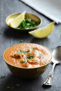 Lightened Up Chicken Tikka Masala Soup