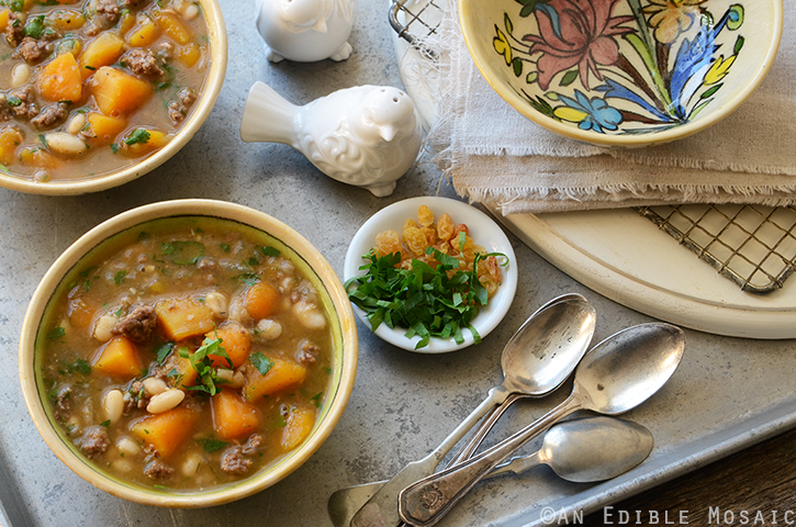 Sweet and Spicy Beef, Butternut, and White Bean Stew 4