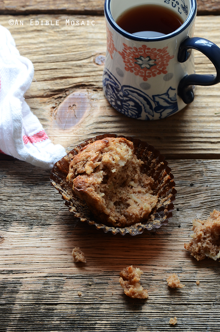 Whole Wheat Sour Milk Apple Cinnamon Muffins 4