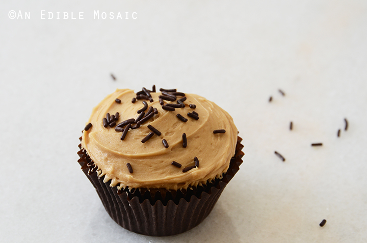 Vanilla Bean Guinness Cupcakes with Salted Coffee Caramel Buttercream 4