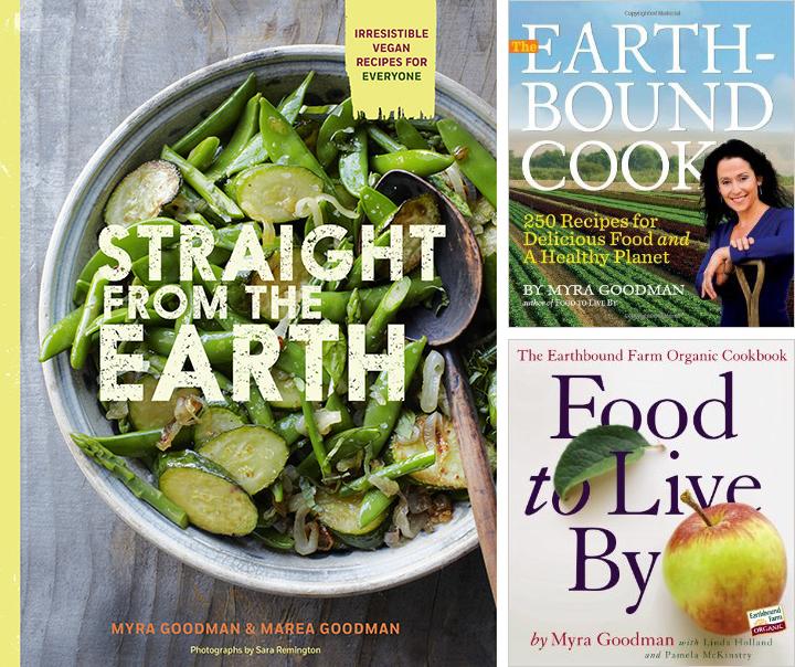 Myra Goodman's Cookbooks