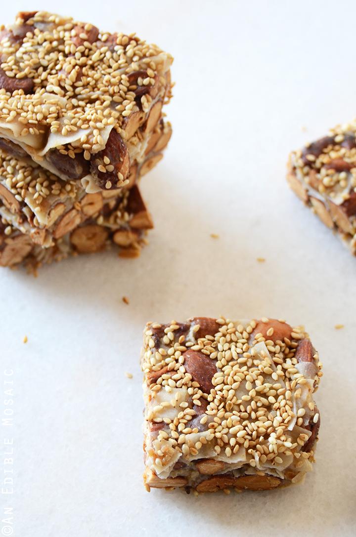 Sweet and Savory Teriyaki Nut Squares {Paleo} 3