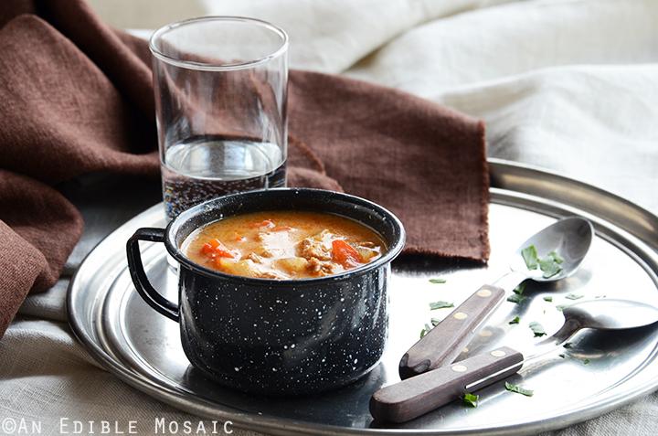 Quick Chicken Paprika Soup 3