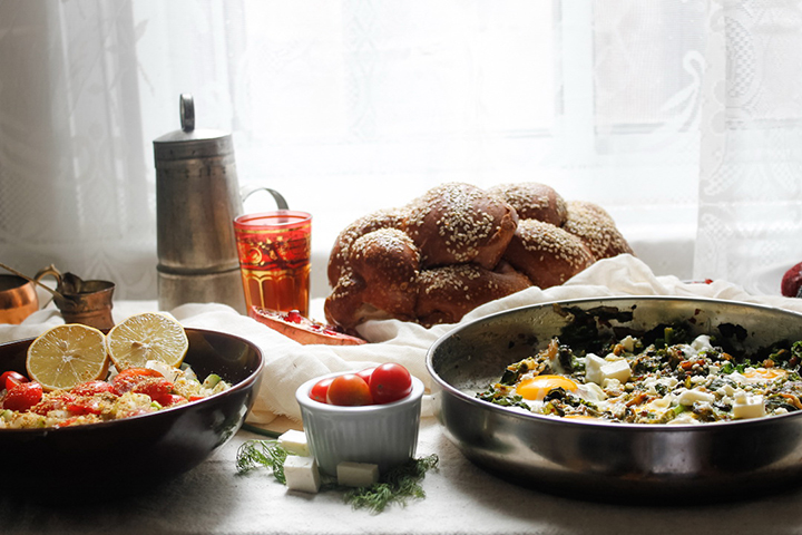 Breakfast Spread by Immigrant's Table