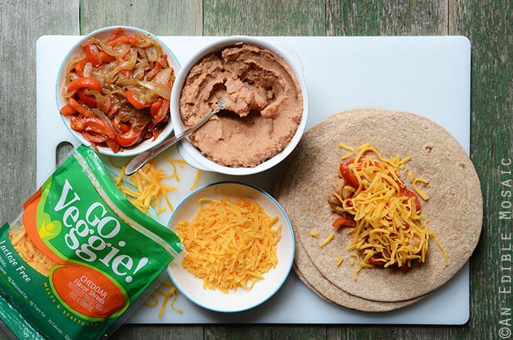 Cheesy Refried Bean Burritos 3