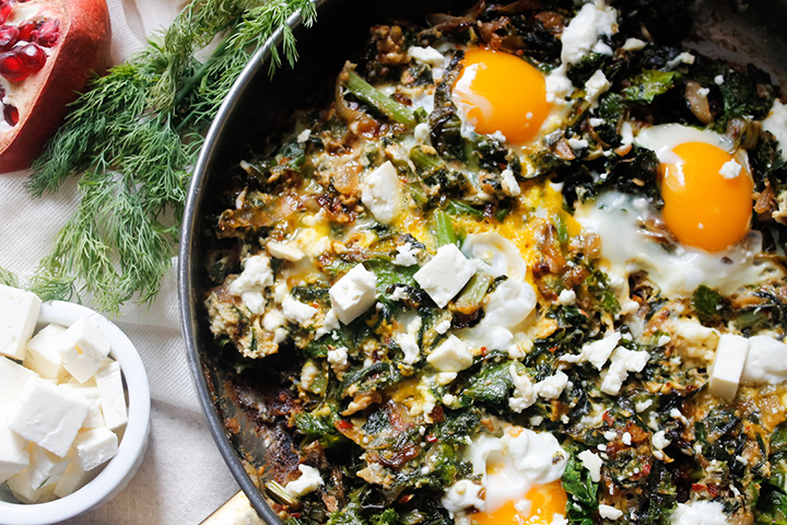 Israeli Green Shakshuka by Immigrant's Table
