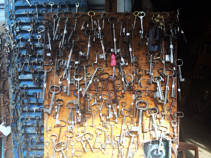 Old Keys at Marche Clignancourt