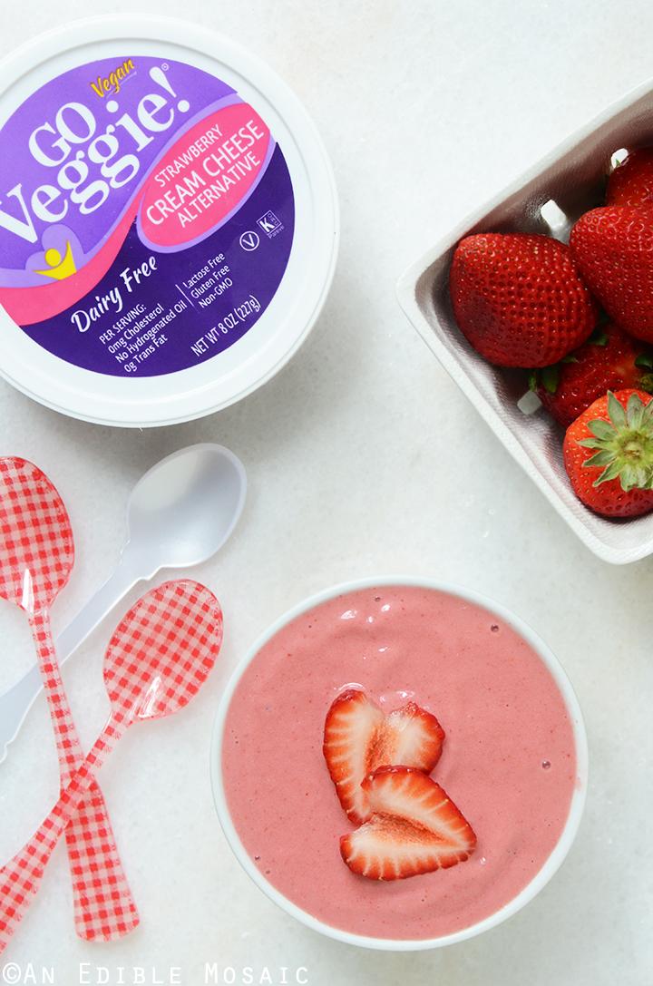 Strawberry and Cream Smoothie Bowl 2