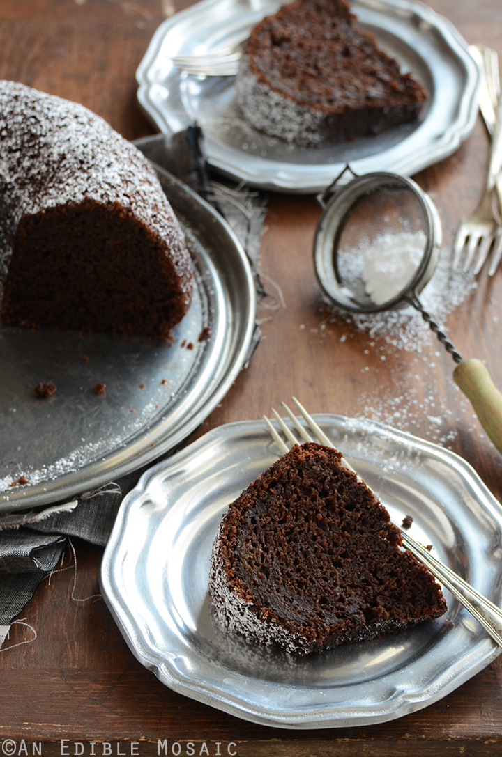 Cinnamon and Orange-Spiced Chocolate Zucchini Cake