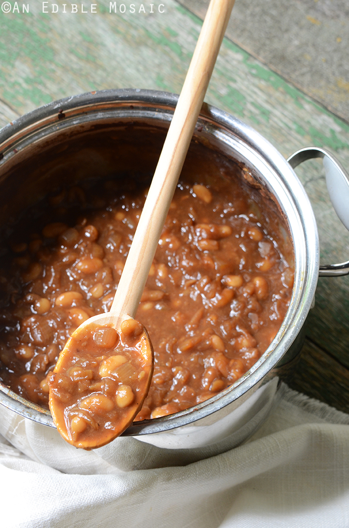 Vegetarian Boston Baked Beans 2