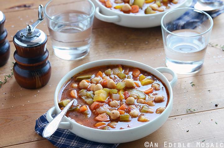 Chickpea Garden Vegetable Soup Recipe 2