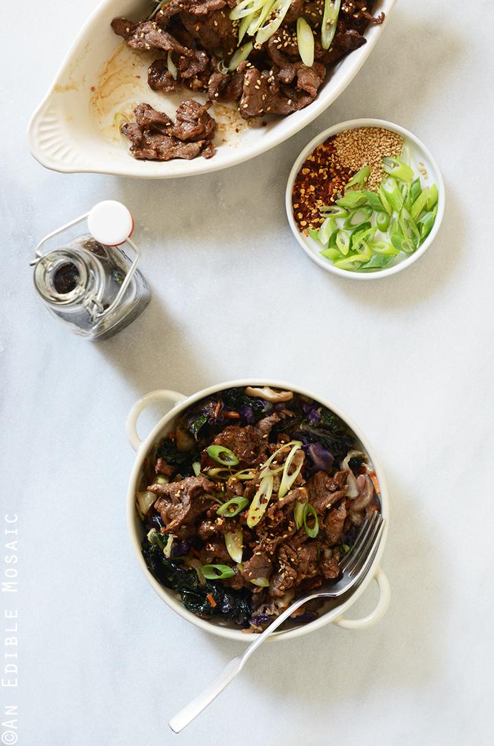 Korean Barbeque Beef (Bulgogi) 2