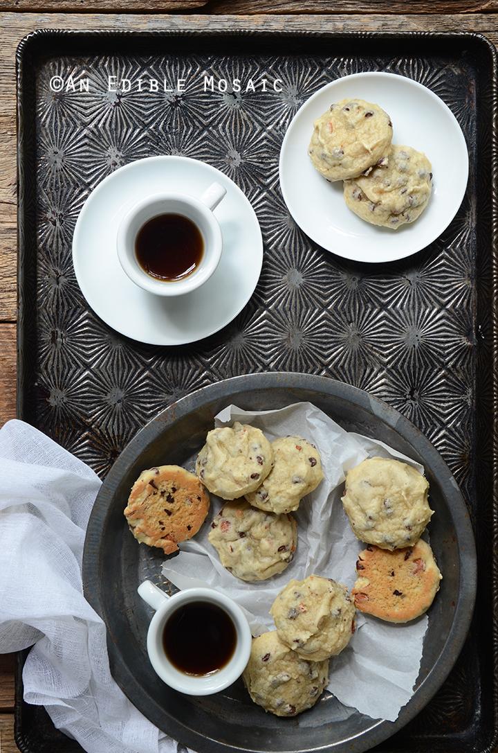 Soft Cannoli Cookie Sandwiches with Almond, Orange, and Dark Chocolate 3