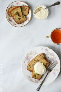 Earl Grey Tea and Honey Pound Cake with Walnuts