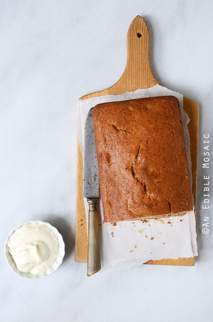 Earl Grey Tea and Honey Pound Cake with Walnuts 2