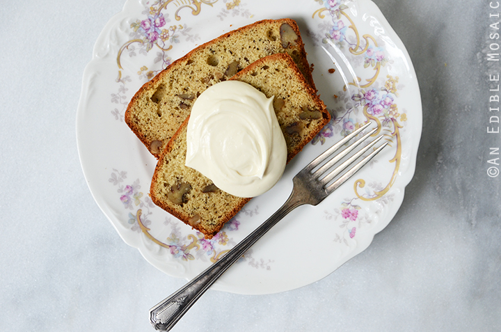 Earl Grey Tea and Honey Pound Cake with Walnuts 5