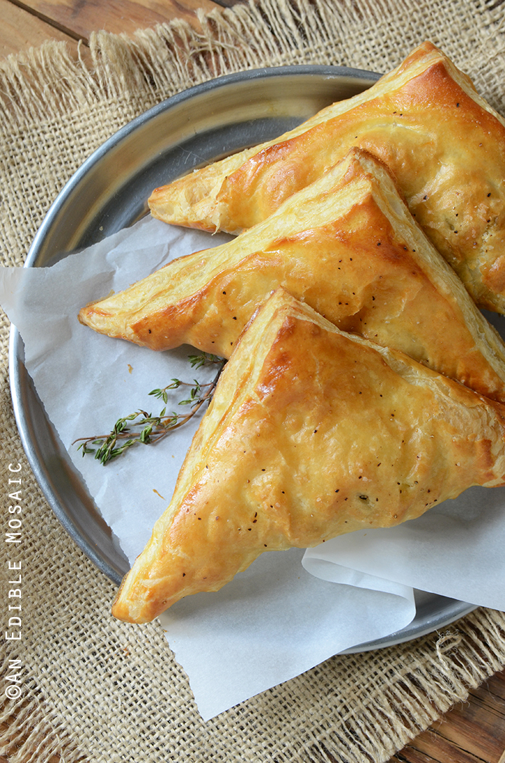 Easy Leftover Turkey, Mushroom, and Brie Puff Pastries 4
