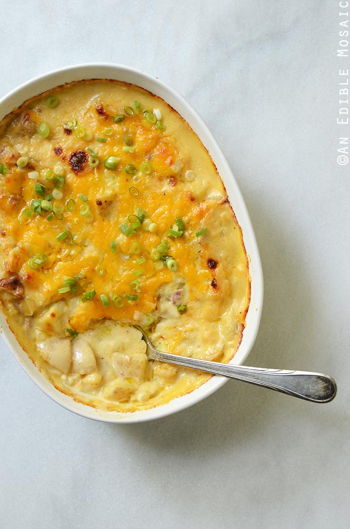Loaded Cheesy Potato Casserole 1