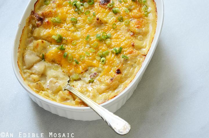 Loaded Cheesy Potato Casserole 6