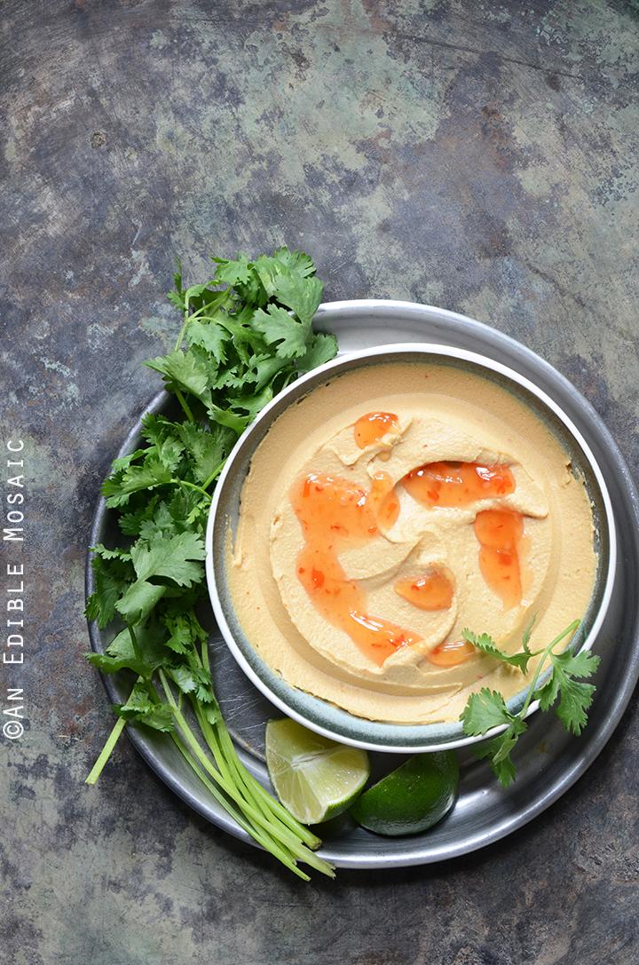 Peanutty Thai Curry Hummus 2