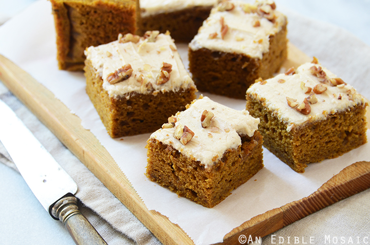 Pumpkin Spice Latte Snack Cake with Brown Butter Buttercream 5