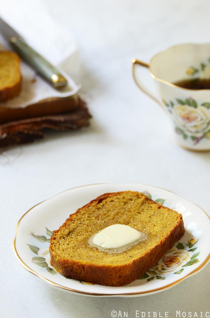 Warm-Spiced Pumpkin Yeast Bread 2