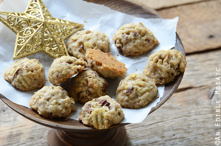 Maple Pecan Potato Chip Shortbread Cookies 5