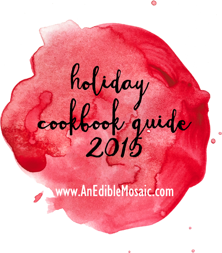 Holiday Cookbook Guide 2015