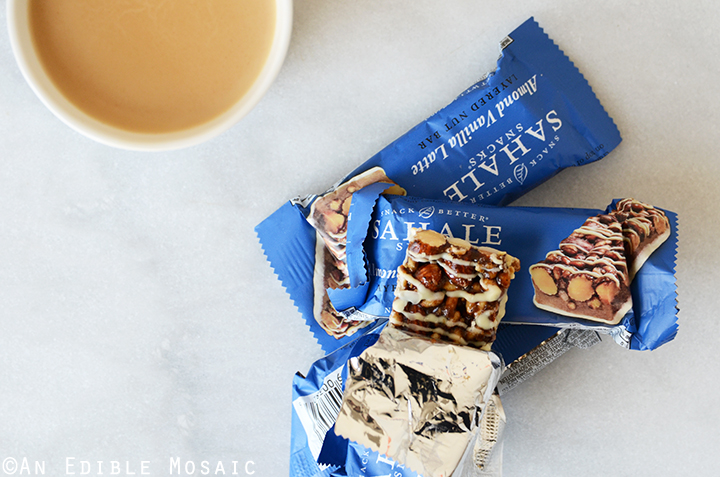 Sahale Snacks® Almond Vanilla Latte Layered Nut Bar