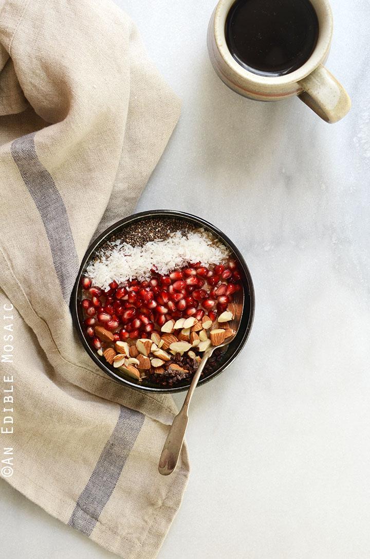 10-Minute Cinnamon Raisin Brown Rice Breakfast Porridge {Gluten-Free; Vegan} 1