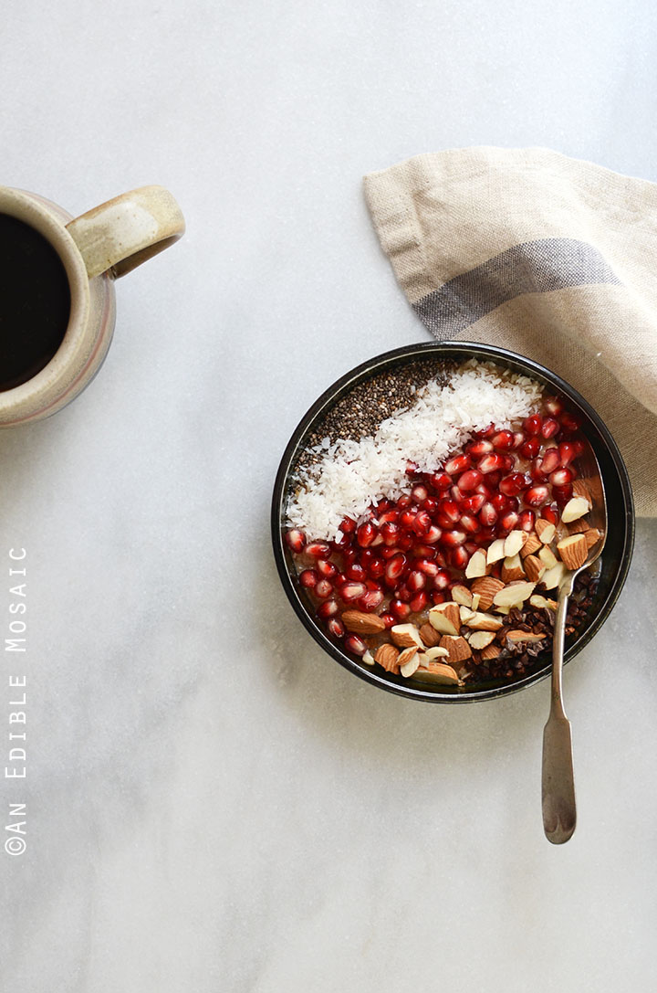 10-Minute Cinnamon Raisin Brown Rice Breakfast Porridge {Gluten-Free; Vegan} 3